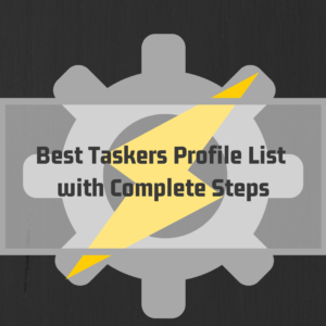 Best Taskers Profile List