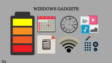 Desktop Gadgets for Windows 10.