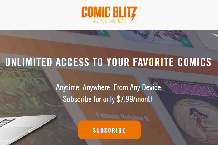 Comic Websites