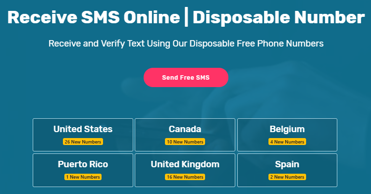 Sms Receive Free