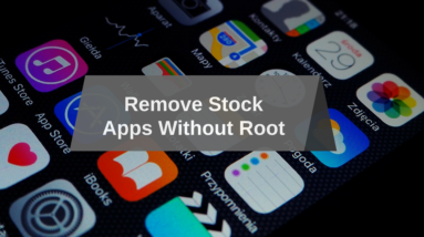 Remove Stock Images
