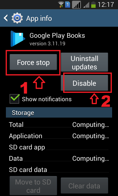 Remove Stock Apps from android phones