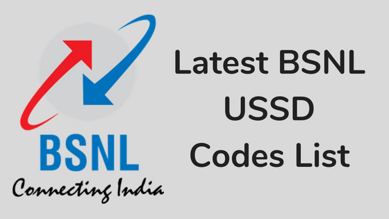 47 Latest BSNL USSD Codes List to check Balance, Internet
