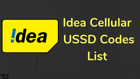 100+ Idea USSD Codes List 2018 to Check Data Usage