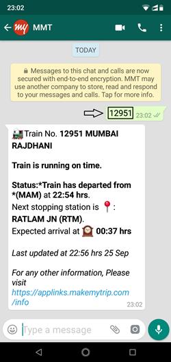 Check Train Status