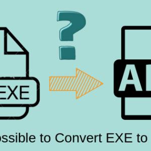 Convert EXE to APK