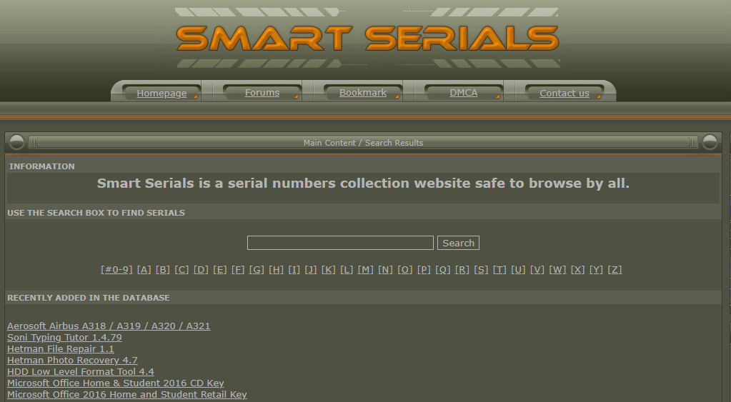 Free Serial Key Sites List