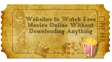 Free Movie Watching Sites
